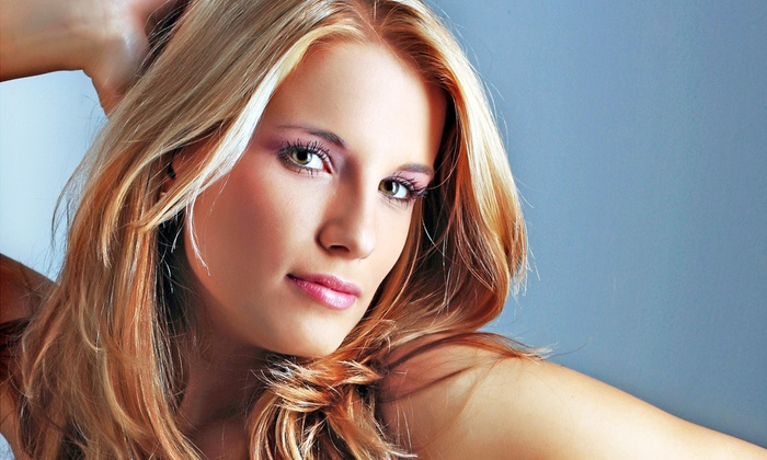 Greg & Tony Salon - Westport: Haircut Package with Color or Highlights or Keratin Treatment at Greg & Tony Salon (Up to 60% Off)