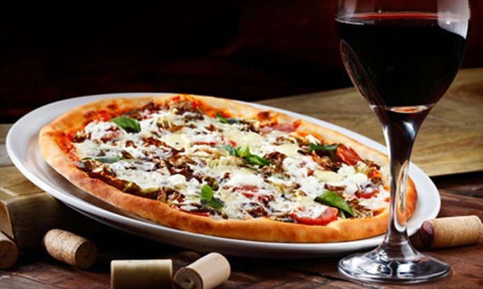 Rare Earth Pizza and Wine Bar - Troon North: Pizza Meal for Four with Wine, or $10 for $25 Worth of Pizza and Drinks at Rare Earth Pizza and Wine Bar in Scottsdale