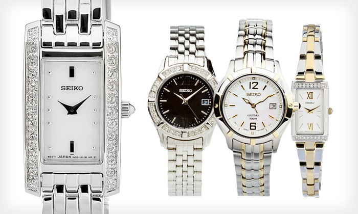 Seiko Women's Watches: Seiko Women's Watches (Up to 75% Off). 16 Options Available. Free Shipping.