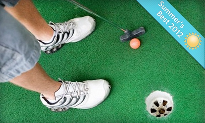 Putt-Putt Golf and Games - Del Norte: Three Rounds of Putt-Putt Golf with Option for Arcade Games for Two or Four at Putt-Putt Golf and Games (Up to 55% Off)