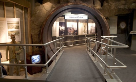 National Atomic Testing Museum Visit for One, Two, or Four with  Access to the Area 51 Exhibit (Up to 56% Off)