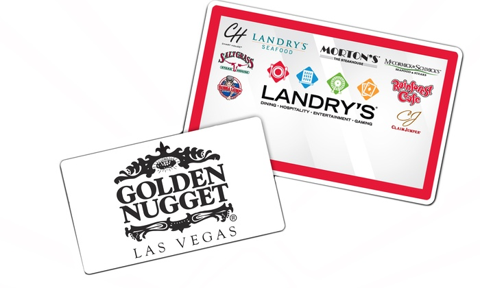 Landry's, Inc. - Golden Nugget Hotel and Casino: $50 for a $50 Landry's eGift Card and a Golden Nugget Exclusive Resort Offer ($151 Value)