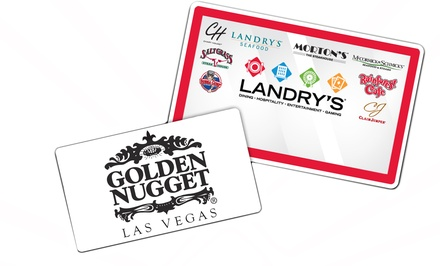 Landry's Restaurants and Golden Nugget Las Vegas Hotel & Casino Packages  (Up to 67% Off).