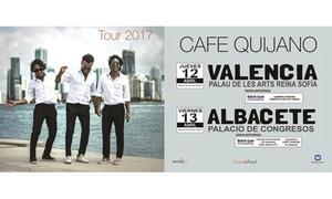 """Territorio Musical: Entrada al tour de """"Café Quijano"""" el 12 y 13 de abril en Valencia y Albacete desde 25 € en Territorio Musical"""