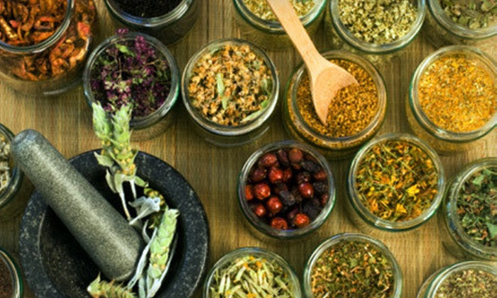 Herbarium - West End: $20 for $40 Worth of Bulk Herbs, Bath Products, and Natural Supplements at Herbarium in Chicopee