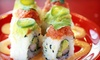 Roll On Sushi Diner - Burnet Rd.: $10 for $20 Worth of Traditional and Austin-Inspired Sushi at Roll On Sushi Diner