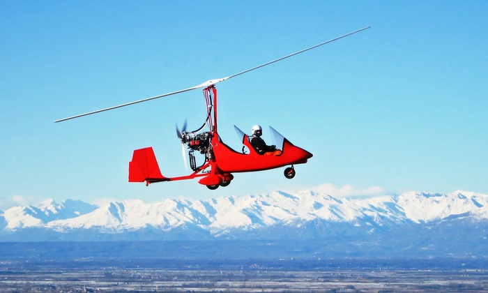 Lone Star Magni Gyro - Taylor: $73 for 30-Minute Gyroplane Discovery Flight at Lone Star Magni Gyro ($100 Value)