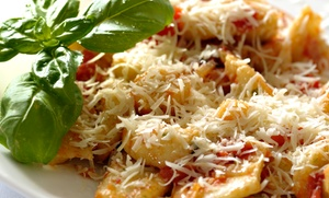 Italian Dinner For Two Or Four At Vitale