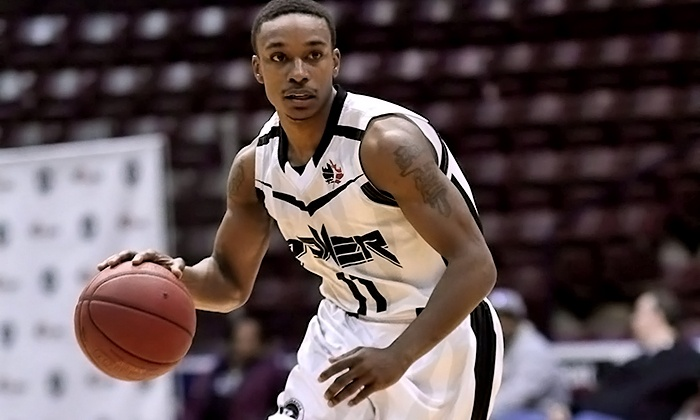 Mississauga Power - Mississauga: Mississauga Power Basketball Game at the Hershey Centre with Option for T-Shirt (Up to 52% Off). Three Games Available.