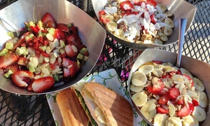 Vitality Bowls - Traderspoint (Indy): $18 for Three Groupons, Each Good for $10 Worth of Açaí Bowls and More at Vitality Bowls ($30 Value)