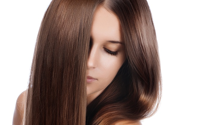 Victoria Beauty Lounge - Red Bank: One, Three, or Five Blowouts, or a Root Touch-Up at Victoria Beauty Lounge (Up to 55% Off)