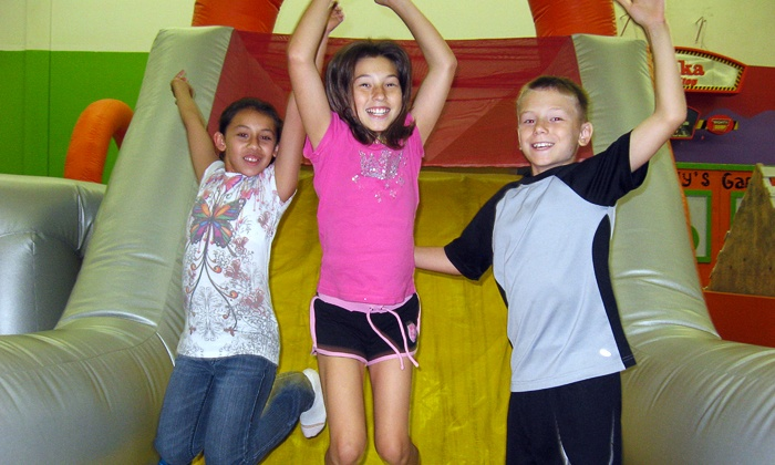 Leapin' Lizards - North Richland Hills: Visit with Rock Climbing or Bungee Trampoline, Five Visits, or Party for Up to 15 at Leapin' Lizards (50% Off)