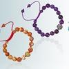 Gemstone Shamballa Bracelet