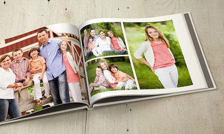 20-Page Custom Classic or Deluxe Photo Book from MyPublisher (Up to 78% Off)
