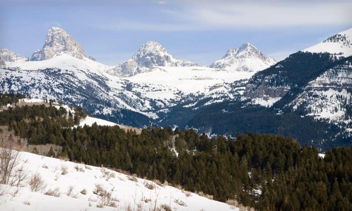 null - Salt Lake City: Stay with Peak Ski-Season Options at Jackson Hole Lodge in Jackson, WY