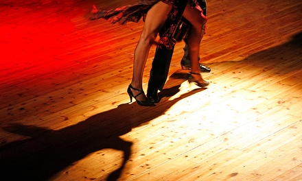 $79 for Private Lessons, Group Class, and Practice Party at Teah Ballroom Dance Club ($395 Value)