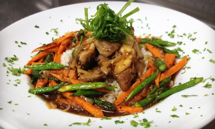 Markers Restaurant - Secaucus: American Grill Food for Two or Four with Entrees, Dessert, and Wine at Markers Restaurant (Up to 54% Off)