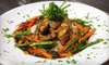 Markers Restaurant - oob - Exchange Place North: American Grill Food for Two or Four with Entrees, Dessert, and Wine at Markers Restaurant (Up to 54% Off)