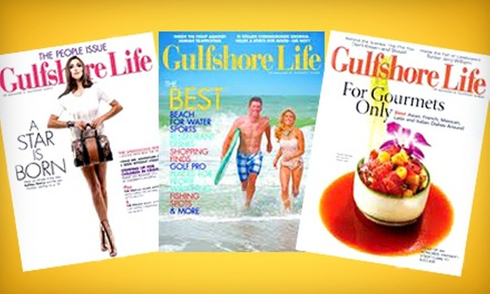 """Gulfshore Life"" - Old Naples: One- or Two-Year Subscription to ""Gulfshore Life"" (Up to 53% Off)"