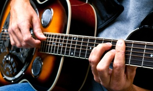 Mammoth Music: Two or Four 30-Minute Guitar Lessons at Mammoth Music (Up to 53% Off)