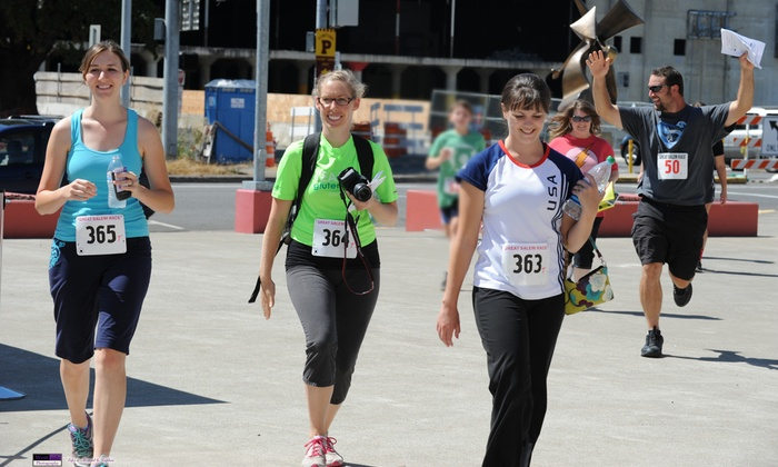 The Great Salem Race - Central Area: $19 for Entry for a Team of up to Four in the Family Division at the Great Salem Race On Saturday, August 16 ($35 Value)
