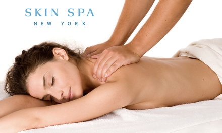 One or Three Swedish or Deep-Tissue Massages at Skin Spa New York (Up to 54% Off)