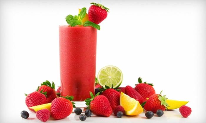 Sunset Smoothie - Prairieville: $6 for $12 Worth of Smoothies at Sunset Smoothie