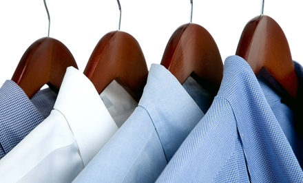 Dry Cleaning and Laundry Services at Snazzy Clean (Up to 52% Off). Two Options Available.