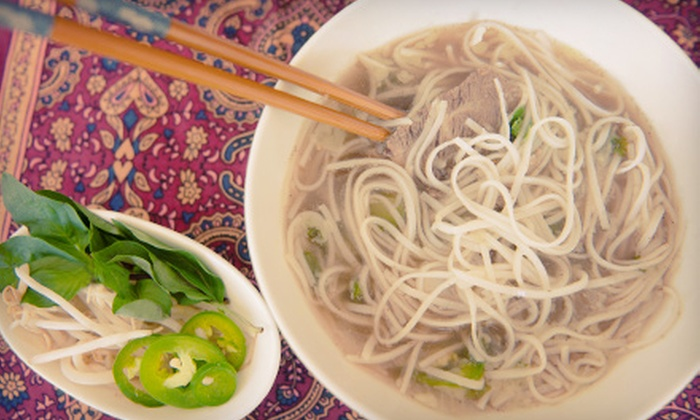 Pho Huong Nam - Albany: Vietnamese Dinner for Two or Four at Pho Huong Nam (Up to 52% Off)