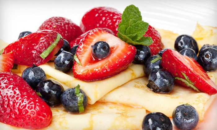 Le Monde des Crepes - Coco Palm Village: $9 for One Dessert Crepe and One Entree Crepe at Le Monde des Crepes (Up to $18.90 Value)