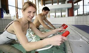AQUAMOMENTO: 5 séances d'Aquabiking (30 min) ou d'Aquagym (45 min) ou d'Aquarun (30 min) chacune à 59,90 € chez Aquamomento