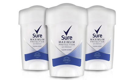 Sure Women Maximum Protection Cream - Schutz gegen Nässe und Geruch, für den täglichen Gebrauch (14,90 €)