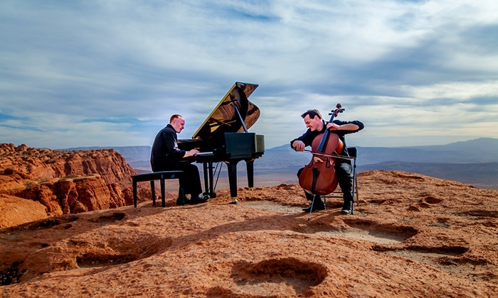 The Piano Guys - A Family Christmas - Toyota Oakdale Theatre: The Piano Guys – A Family Christmas: Ticket Package at Toyota Oakdale Theatre on December 10 (Up to 51% Off)