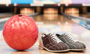 Heritage Lanes: C$30 for Two Games of Bowling with Shoes, Drinks, and Snacks for Up to Four at Heritage Lanes (Up to C$61 Value)