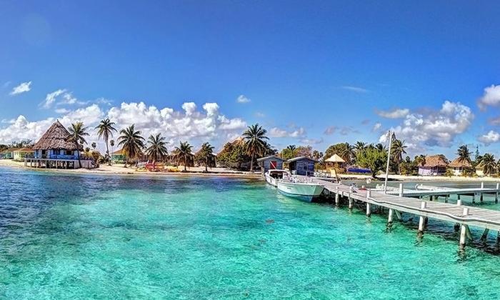 Blackbird Caye Resort In Turneffe Atoll Groupon Getaways