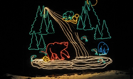 Wildlights Festival Admission for Two or Five at BC Wildlife Park Kamloops (Up to 36% Off)