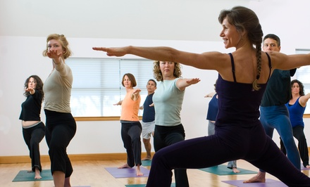 10 or 20 Classes or Three Months of Unlimited Classes at Sculpt Fusion Yoga (Up to 72% Off)