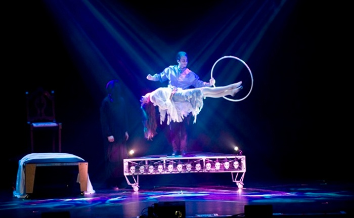 Haunted Illusions - Palace Theatre: Haunted Illusions by David Caserta at The Palace Theatre on Saturday, October 11, at 3 p.m. (Up to 41% Off)