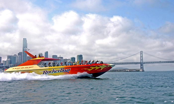 Blue and Gold Fleet - The Embarcadero at Beach Street: One, Two, or Four Tickets for a 30-Minute RocketBoat Ride from Blue & Gold Fleet (48% Off)