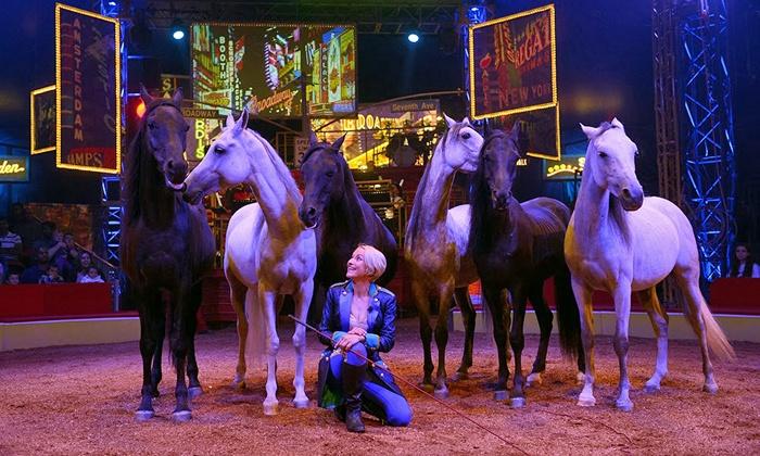 "Big Apple Circus: ""Luminocity!"" - Alpharetta: Big Apple Circus's ""Luminocity"" on January 30–February 13 (Up to 42% Off)"