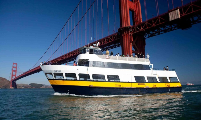 Blue & Gold Fleet - Fisherman's Wharf: $28 for a One-Hour San Francisco Bay Cruise for Two from Blue & Gold Fleet (Up to $56 Value)