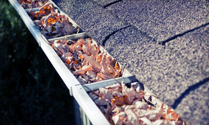 Bux-Mont Roofing - Philadelphia: Gutter Cleaning for a Small, Medium, or Large Roof from Bux-Mont Roofing (Up to 65% Off)