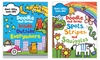 Kids' Doodle and Draw 2-Book Set: Kids' Doodle and Draw 2-Book Set