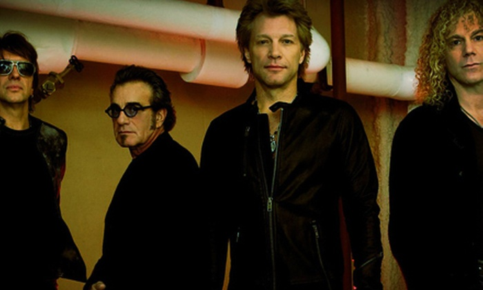 Bon Jovi: Because We Can - Downtown: Bon Jovi: Because We Can – The Tour at CenturyLink Center on April 8 at 7:30 p.m. (Up to 48% Off). Two Options Available