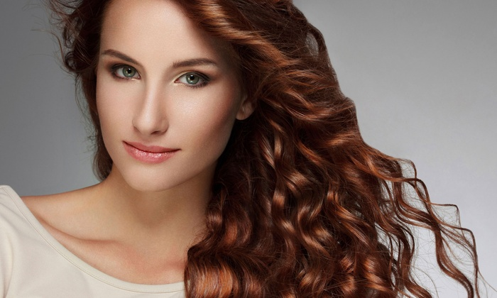 Tangled Hair Salon - Folsom: Haircut Package with Optional Partial Highlights or Full Color at Tangled Hair Salon (Up to 51% Off)