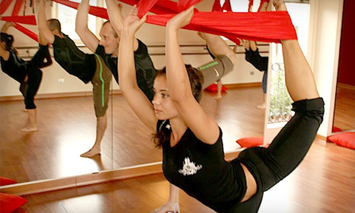 Believe Fitness Studio - El Segundo: Three or Six Antigravity Yoga or Aerial Fitness Classes at Believe Fitness Studio in El Segundo (Up to 64% Off)