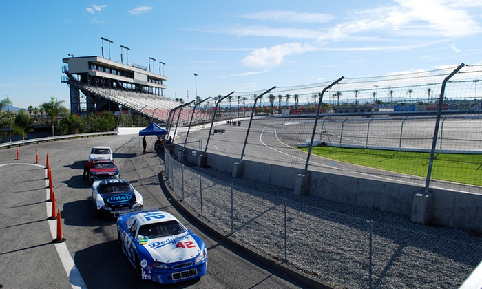 LA Racing Experience - Irwindale: $145 for a 20-Lap Stock-Car Racing Experience from L.A. Racing at Irwindale Speedway ($399 Value)