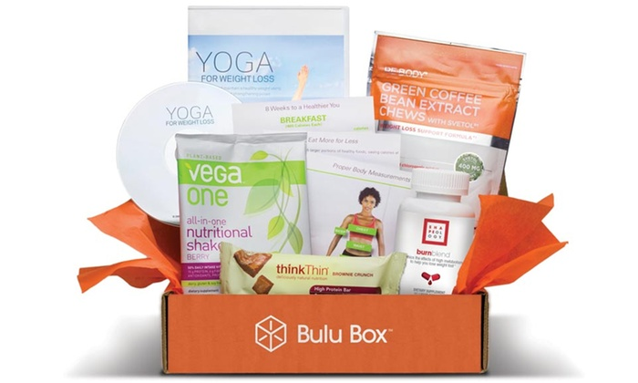 Bulu Box or Bulu Box Weight Loss 3- or 6-Month Subscription: Bulu Box or Bulu Box Weight Loss 3- or 6-Month Subscription with Supplements and Gear from Bulu Box. Free Shipping.