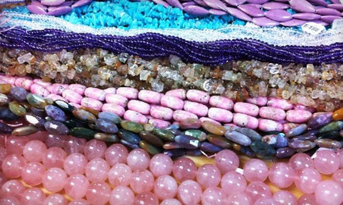 The Beadin' Path - Freeport: $22 for a Beading Class with a $15 Materials Credit at The Beadin' Path (Up to $45 Value)