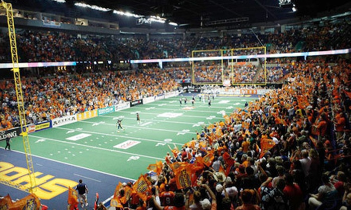 Spokane Shock vs. Utah Blaze - Riverside: Spokane Shock Arena Football Game at Spokane Arena on June 16 (Half Off). Two Options Available.